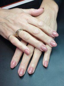 gellak natuurlijke nagel